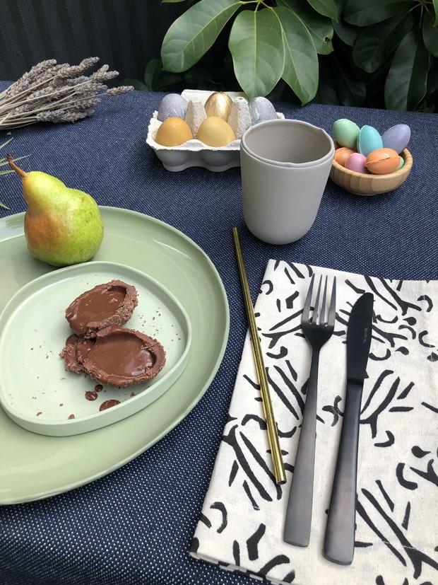 Decoração de Páscoa: mesa de café da manhã sustentável (Foto: Cecilia Cussioli)