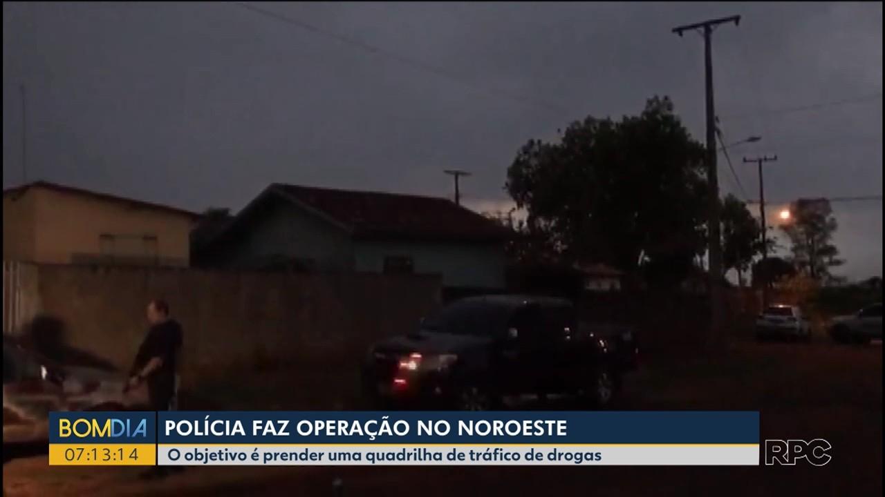 Polícia faz operação em Alto Paraná