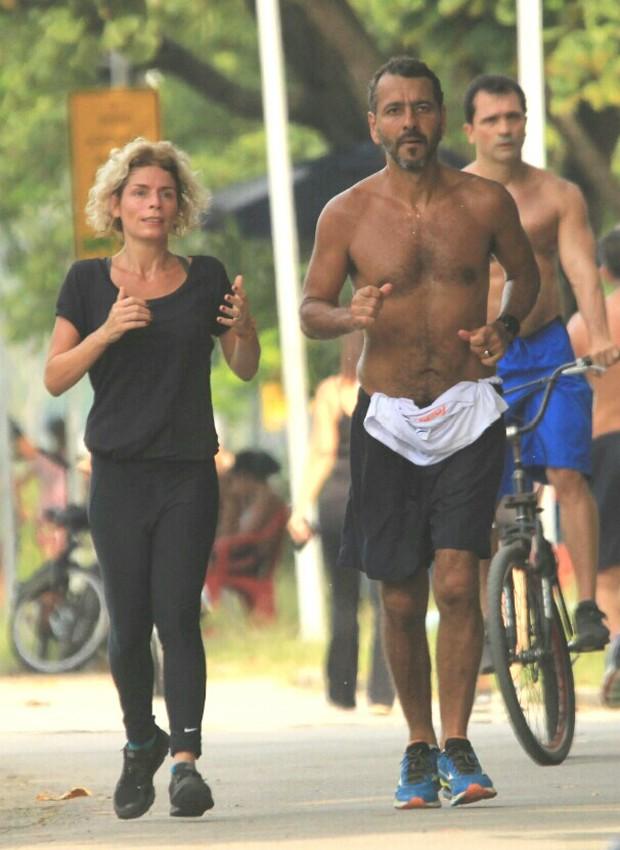 Marcos Palmeira e Gabriela Gastal (Foto: JC Pereira/AgNews)