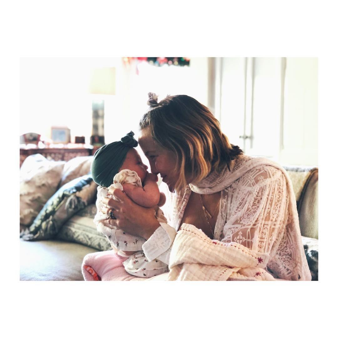 Kate e a filha (Foto: Reprodução Instagram)