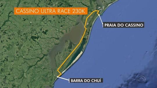 Polícia investiga roubo a atleta durante super maratona em Santa Vitória do Palmar
