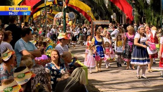 Oktoberfest de Santa Cruz do Sul reúne 380 mil pessoas em 12 dias
