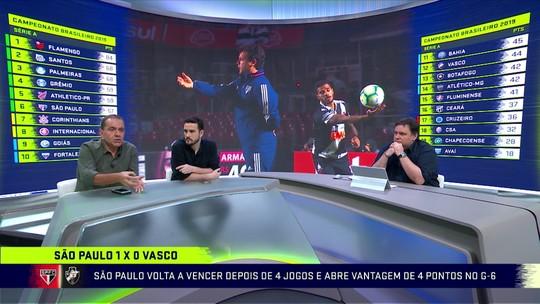 """Troca de Passes critica vitória magra do São Paulo contra o Vasco: """"Obrigação de jogar mais"""""""
