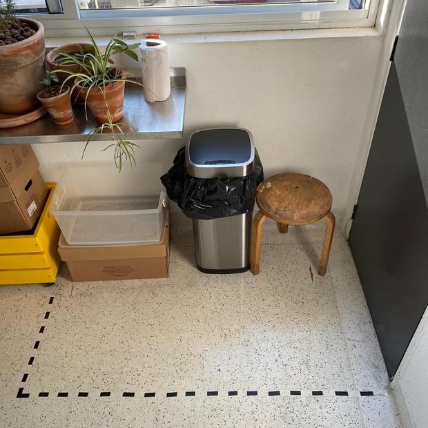 Como montar um cantinho de higienização na entrada de casa (Foto: Maurício Arruda)