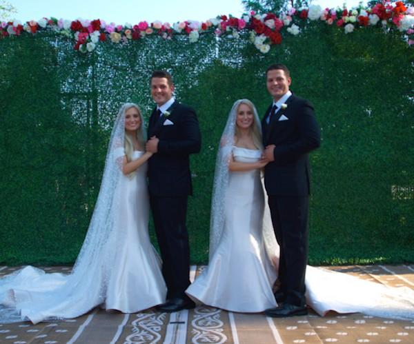 O casais de gêmeos Brittany e Briana Deane e Jossh e Jeremy Salyers (Foto: Divulgação)
