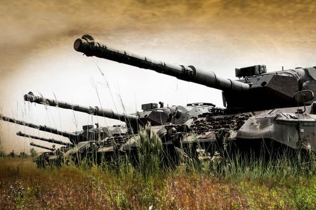 Os dois tanques contam com canhões de 105 mm  (Foto: Exército Brasileiro/Divulgação)