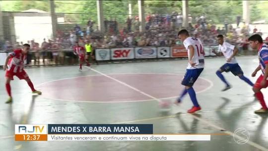 Barra Mansa mostra força, derruba Mendes fora de casa e ressurge na briga por vaga no grupo A