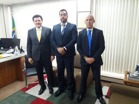 Juiz federal Marcelo Bretas recebe visita do presidente da Associação dos Juízes Federais (Foto: Reprodução)