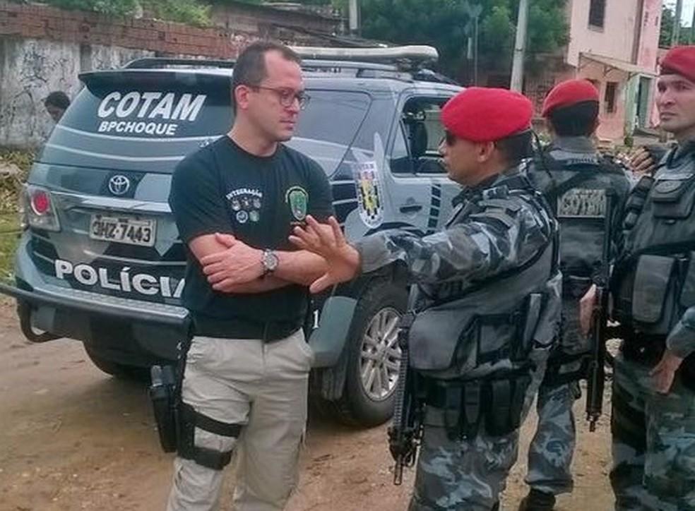 Secretário da Segurança André Costa anunciou mudanças no comando da Polícia Civil do Ceará (Foto: Facebook/Reprodução)