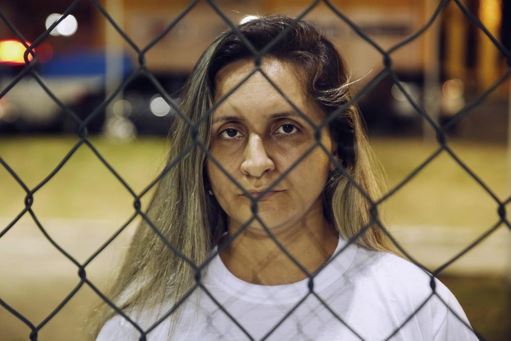 A professora Rosana Louzada foi torturada pelo ex-companheiro por 12 horas — Foto: Marcos Serra Lima/G1
