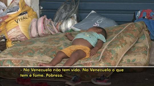 Fome e desesperança trazem venezuelanos ao Brasil; veja relatos