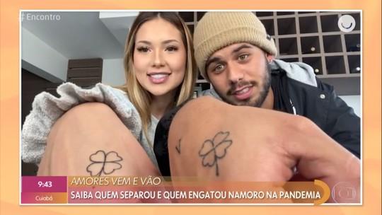 Virginia Fonseca comenta tatuagem de casal com Zé Felipe: 'A gente é doido'