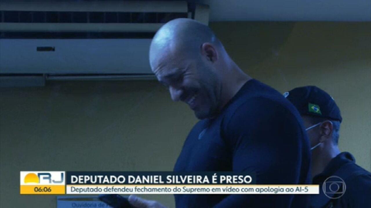PF prende deputado Daniel Silveira por apologia ao AI-5 e por defender fechar o STF