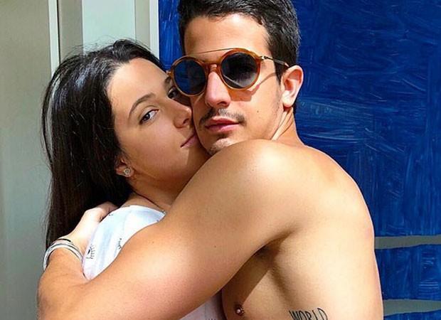 Sophia Raia e Enzo Celulari (Foto: Reprodução)
