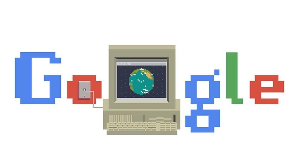 Doodle do Google comemora trigésimo aniversário da WWW — Foto: Reprodução/Google