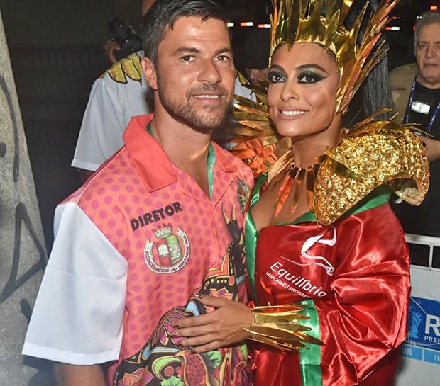 Juliana Paes e Carlos Eduardo Baptista (Foto: Glaucon Fernandes /  AgNews)