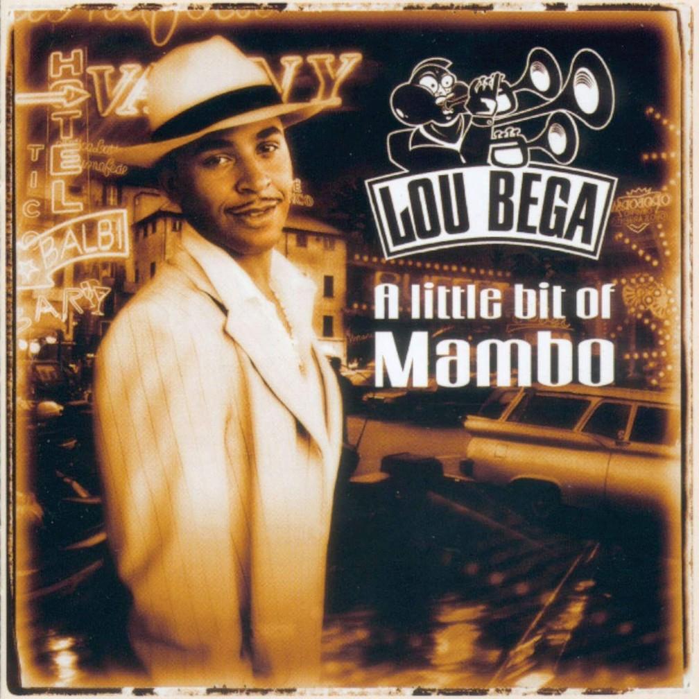 Capa do primeiro álbum de 'Lou Bega', 'A little bit of mambo', de 1999 — Foto: Divulgação