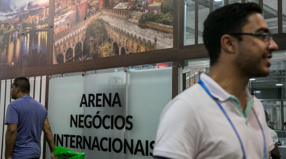 Arena de Negócios Internacionais da Feira do Empreendedor SP 2017 (Foto: Divulgação)