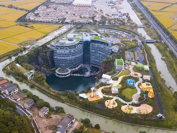 InterContinental Shanghai Wonderland (Foto: Divulgação/cortesia Atkins)