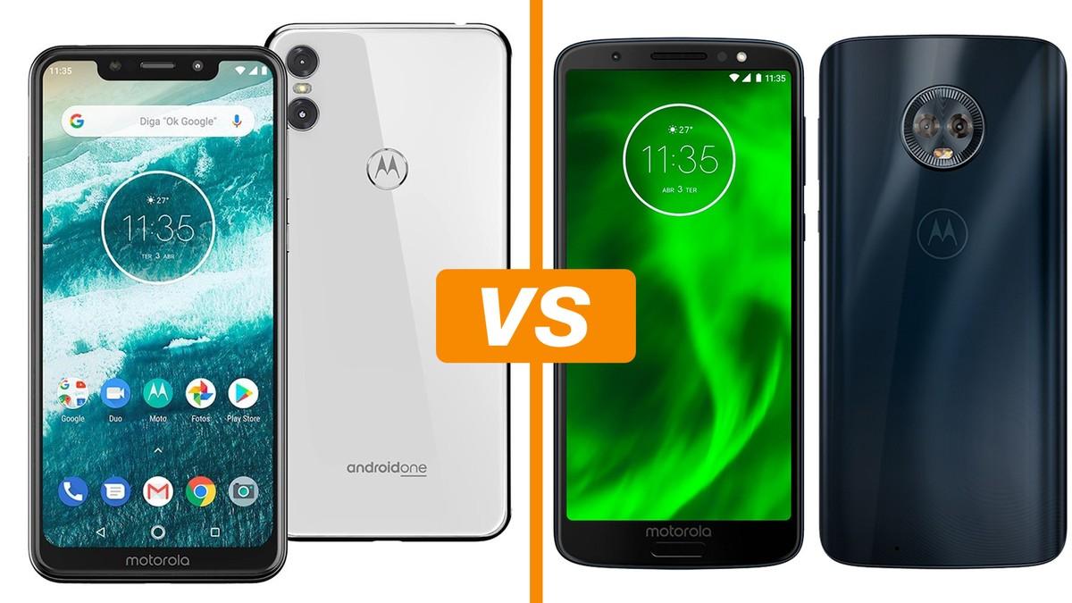 85292f9f7 Motorola One x Moto G6  conheça diferenças entre os celulares ...