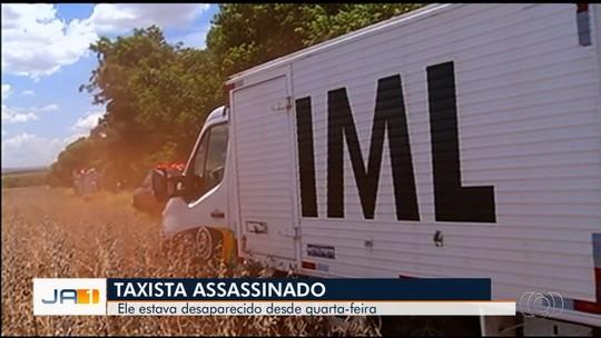Taxista de Quirinópolis que estava desaparecido é encontrado morto em Rio Verde