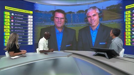 Comentaristas analisam empate entre Paraná e Palmeiras