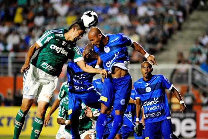 Palmeiras x São Bento Leandro Almeida (Foto: Alan Morici/Framephoto/Estadão Conteúdo)