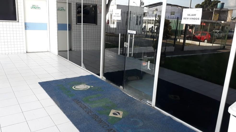 A UPA da Caxangá fica na Zona Oeste do Recife — Foto: Clarissa Góes/TV Globo