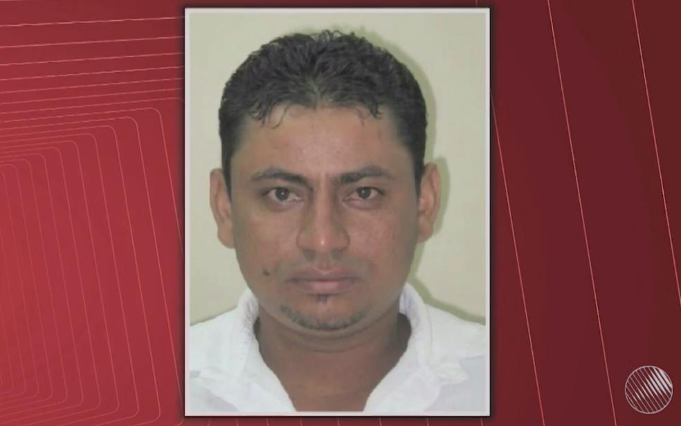 Segurança suspeito de matar adolescente em pomar é preso pela polícia (Foto: Reprodução/ TV Bahia)