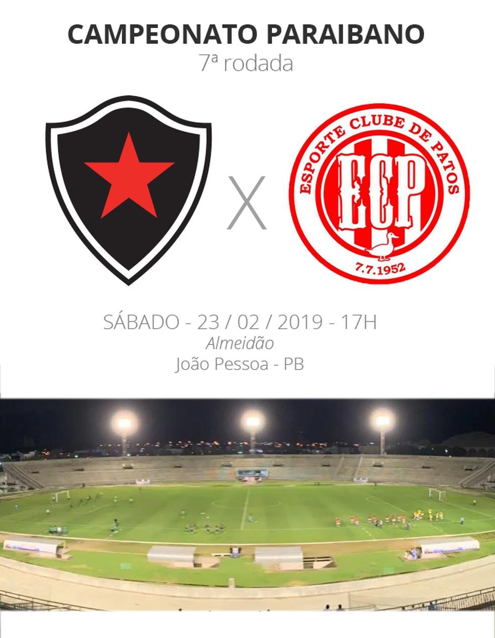 53aa3305e Botafogo-PB x Esporte de Patos  tudo o que você precisa saber sobre ...