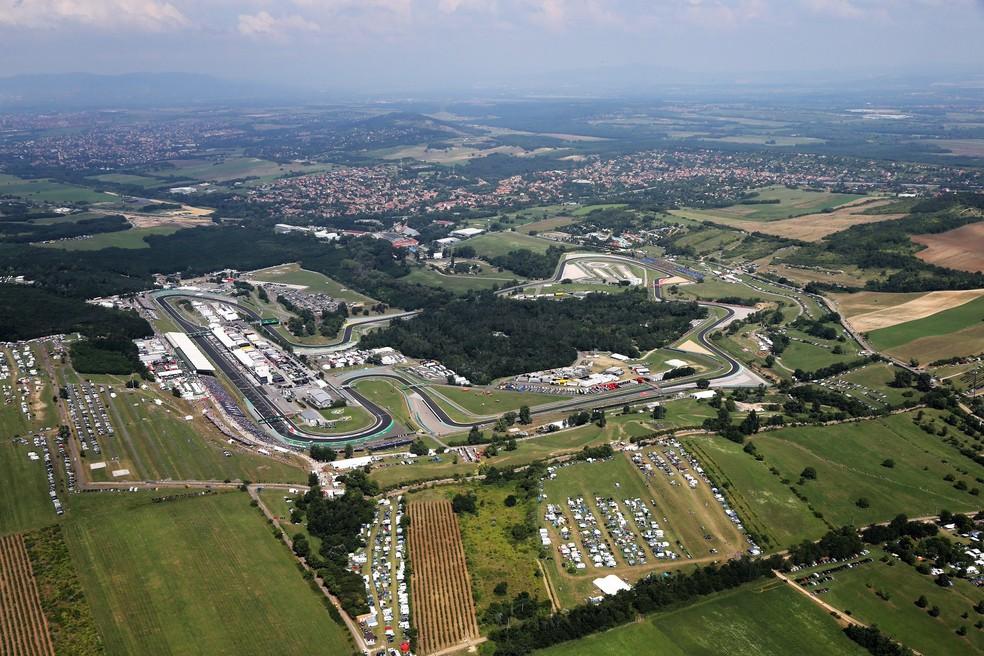 Circuito de Hungaroring — Foto: Reprodução F1