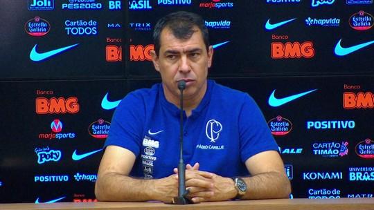 Carille diz que Corinthians não fez dez bons jogos no ano e vê vaga na Libertadores e futuro dele em risco