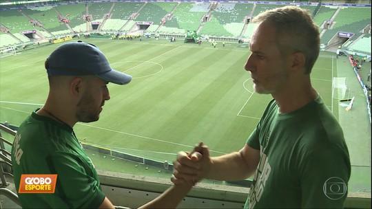Amor ao pai faz torcedor do Corinthians trocar de time e vestir a camisa do Palmeiras