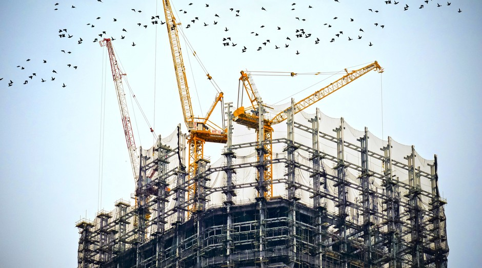 construção, engenheiro, prédio, obra, infraestrutura (Foto: Reprodução/Pexels)