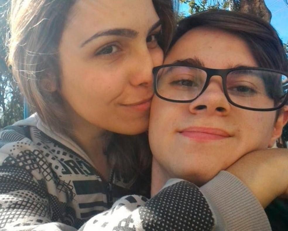 Isabel Tibcherani e Rafael Miguel eram namorados até o pai dela matar o ator a tiros em 2019 — Foto: Reprodução/Redes sociais