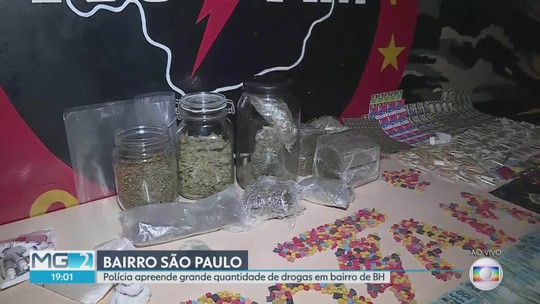 PM apreende em BH cerca de 15 mil pontos de LSD, ecstasy, skunk e haxixe que seriam vendidos em festival