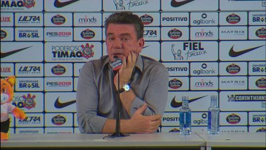 Andrés pede desculpas para a torcida do Corinthians pelo vice e promete time forte em 2019