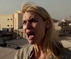 Claire Danes, a agente bipolar Carrie Mathison de 'Homeland' e sua famosa cara de choro   Reprodução da internet
