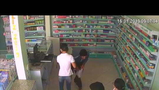 Criminosos são presos no Norte de Minas após assalto a farmácia na Bahia