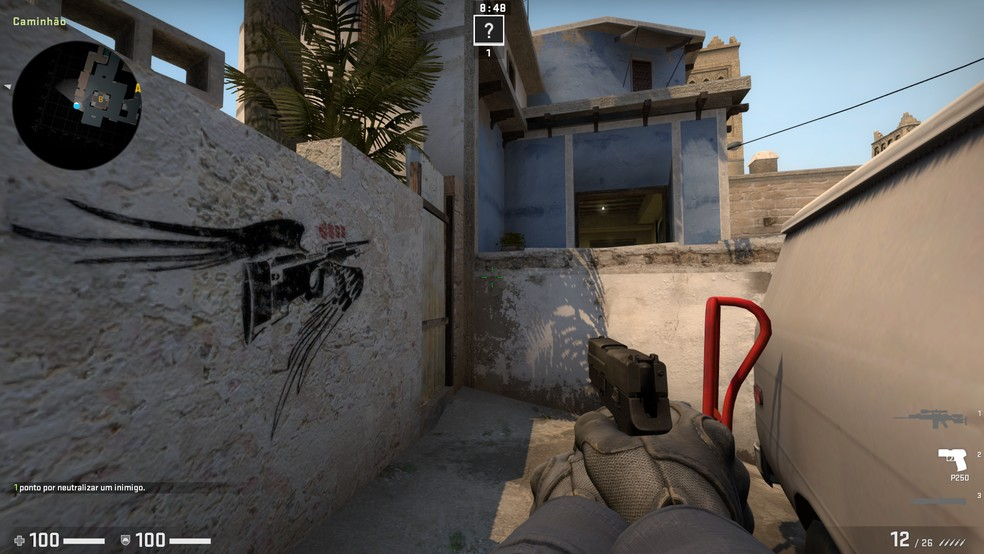 Na Mirage, também se encontra o famoso grafitte de coldzera — Foto: Reprodução/Julio Puiati