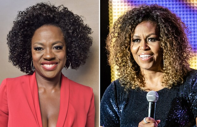Viola Davis e Michelle Obama (Foto: Getty Images)