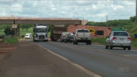 Obras de duplicação da BR-376, entre Paranavaí e Nova Esperança, estão atrasadas