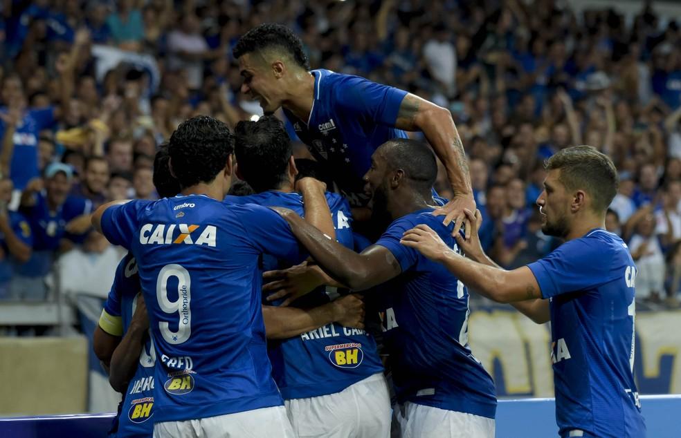 Cruzeiro está a duas semanas da estreia pela Libertadores de 2018 (Foto:  Washington Alves/Light Press)