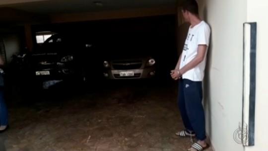 Polícia de Ourinhos prende suspeito de integrar quadrilha que explodiu caixas de banco no PR