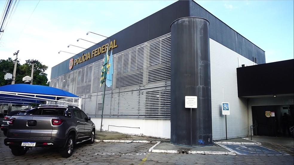 Superintendência Regional da Polícia Federal no Piauí, em Teresina — Foto: Reprodução/TV Clube