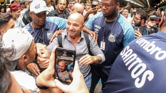 Foto: (Rodrigo Coca/Santos FC)