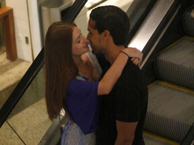 Marina Ruy Barbosa e Xande Negrão (Foto: AgNews)