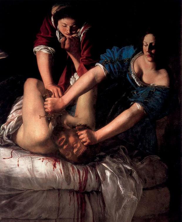 Judith Decapitando Holofernes (1620).  (Foto: Divulgação)