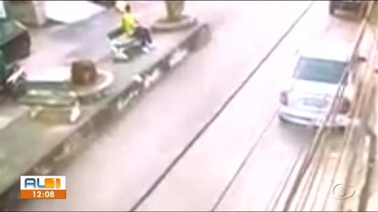 Assalto termina com perseguição policial e um morto em Rio Largo, AL