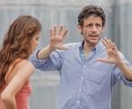Daniel Burman dirige Laura Neiva em 'Supermax' | Artur Meninea/ TV Globo